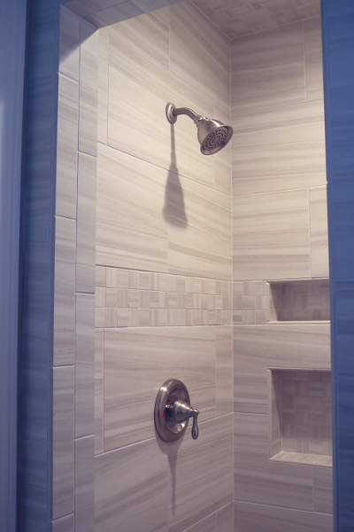 Shower with Gorgeous Tile - Coates Lovett Coates