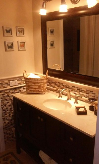 Single Sink Bathroom Remodel - Coates Lovett Coates