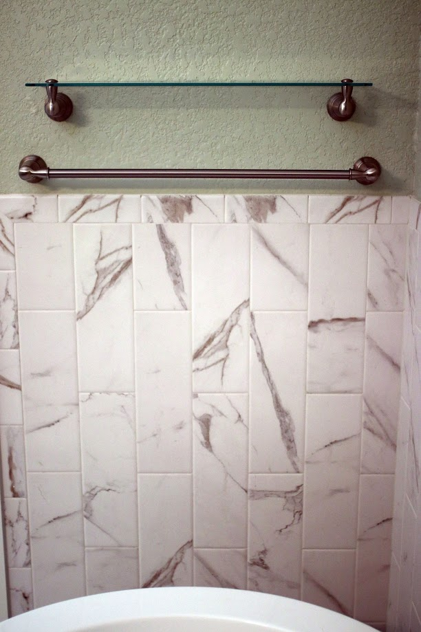 Bathroom Marble Subway Tile - Coates Lovett Coates