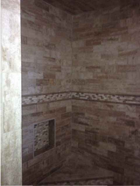 Custom Tiled Shower - Coates, Lovett, Coates
