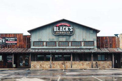 Black's BBQ Exterior - John Lovett II