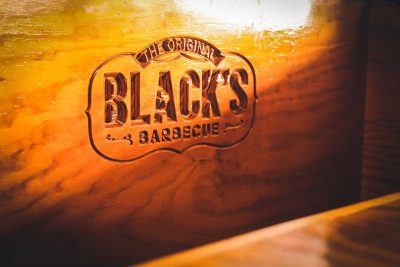 Black's BBQ Wood Carved - John Lovett II